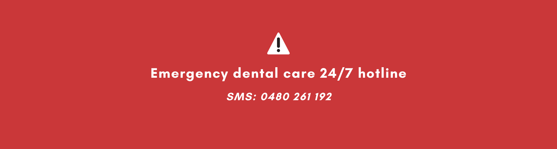 Introducing Central Coast Dental Emergency Service